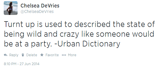 Good Morning Sunshine Urban Dictionary : Besides the best song that describes being turnt up on