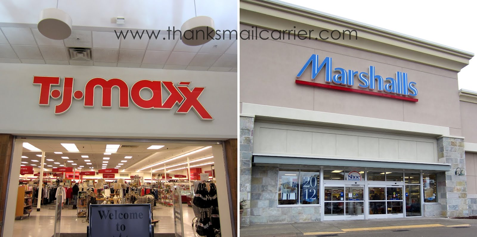 Thanks Mail Carrier Refresh For Less With T J Maxx And Marshalls Review