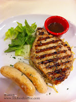 USA pork chop with sausage @ Hot Tomato Somerset 313