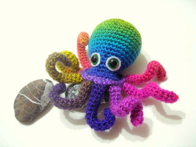 Crochet Patterns Octopus : ... Amigurumis: Amigurumi Octopus Pattern, Crocheted Octopus Pattern