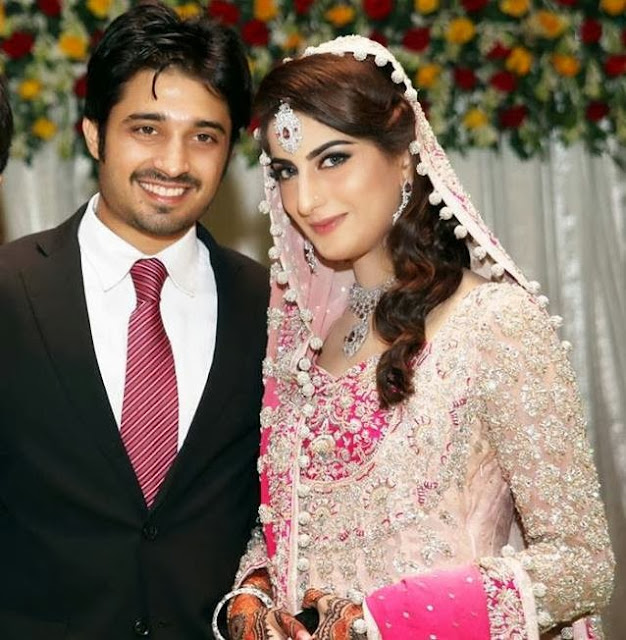 Babar Khan & Sana Khan wedding pictures Beautiful Celebrity Couple