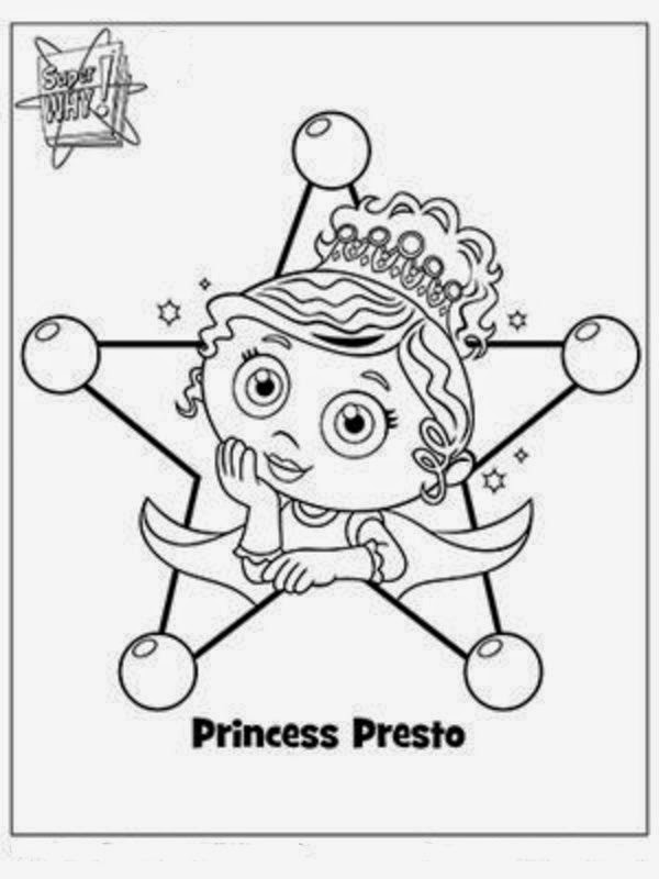 Interesting Collection of Super Why Coloring Pages New Coloring Pages
