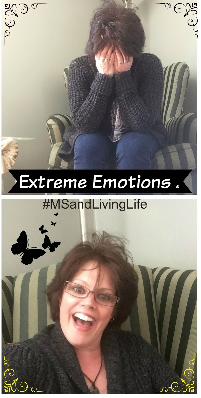Extreme Sadness and Happiness Emotions with MS