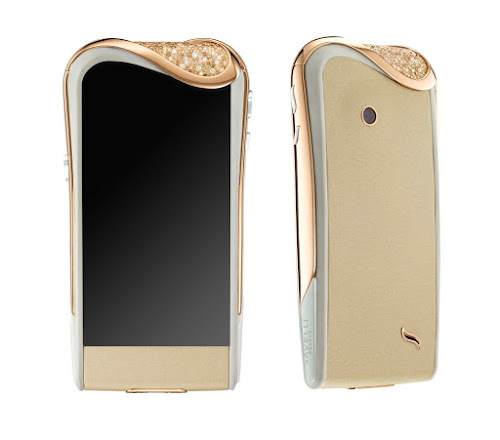 Smartphones Savelli champagne diamants