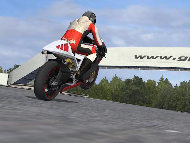 Caballito de moto gp