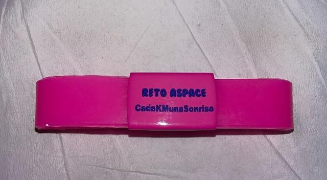 Pulseras Solidarias - Reto Aspace - CadaKMunaSonrisa