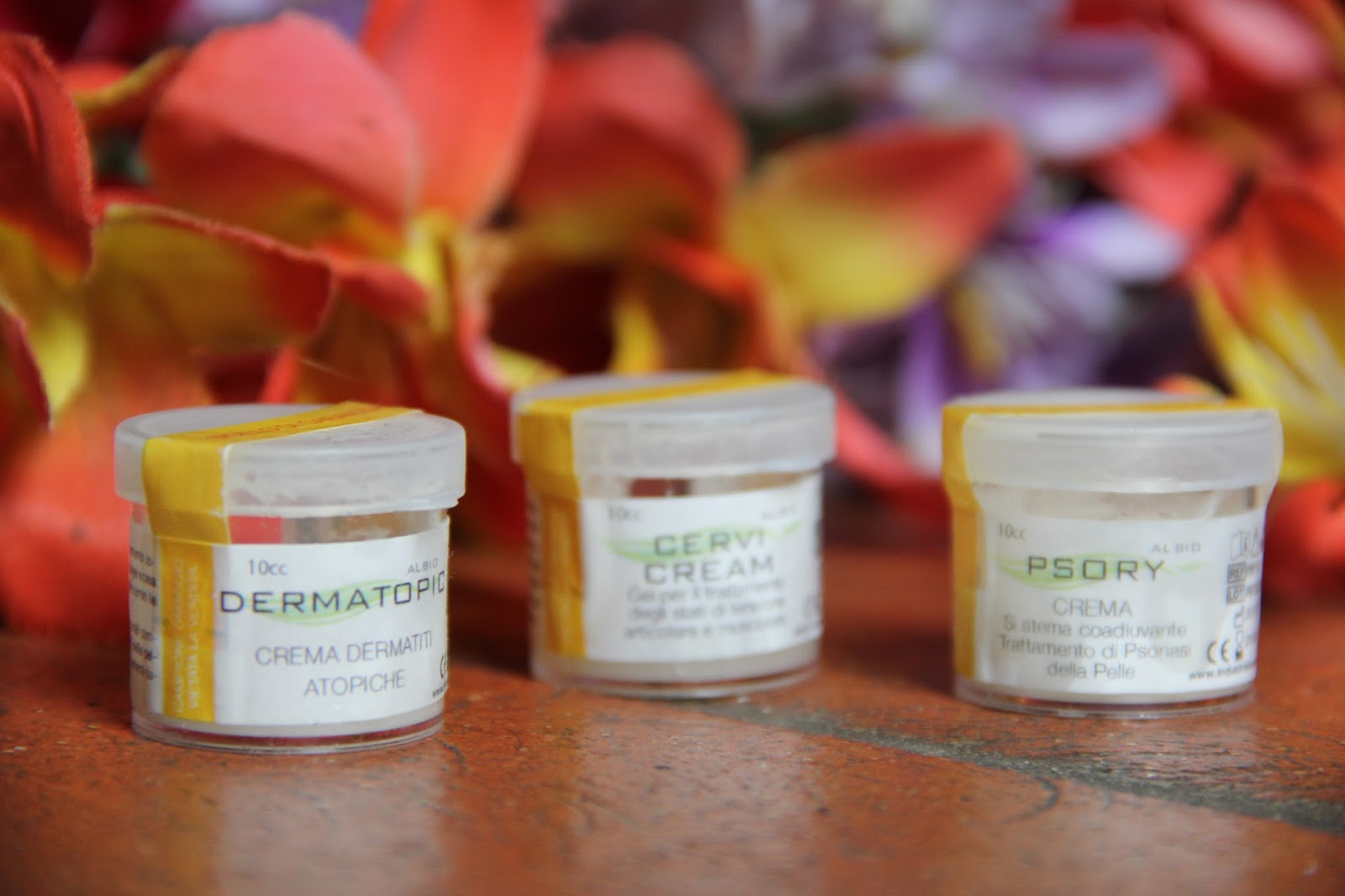 Aromatherapy per cura di psoriasi