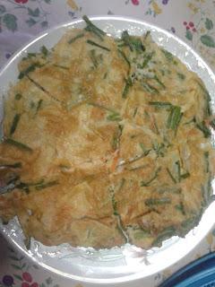 Spring Onion Omelette