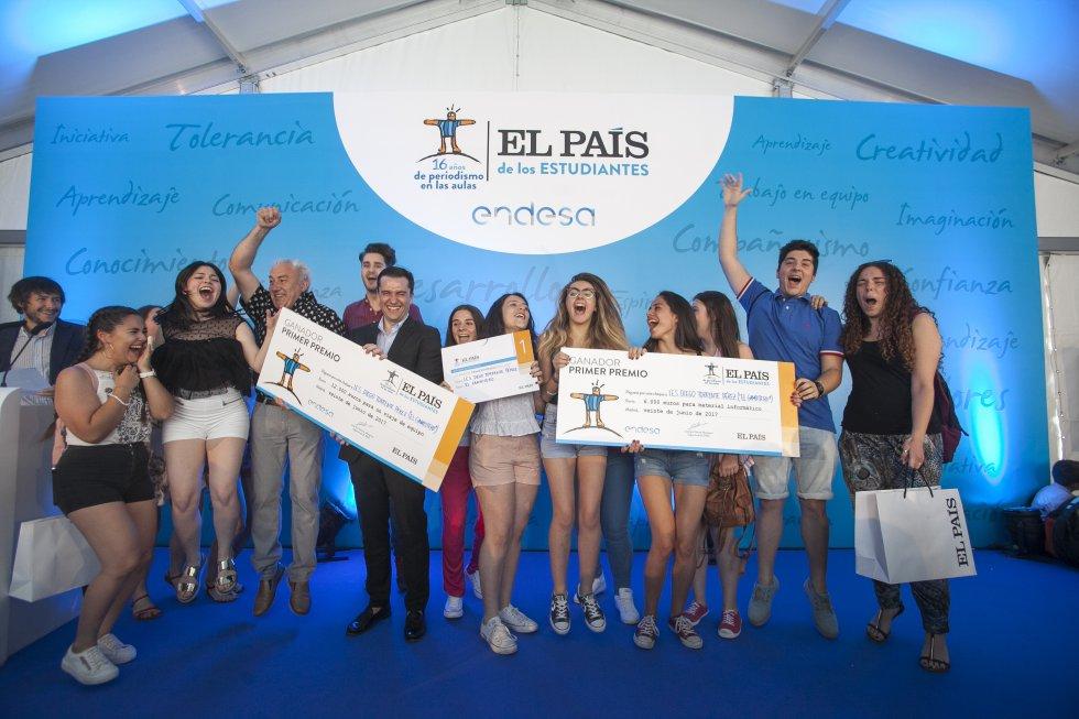 """""""El Gambitero"""" 2017. Primer premio nacional de """"El País de los Estudiantes"""""""