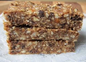 homemade Peanut Butter Chocolate Chip Oat Larabars