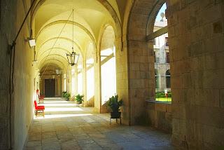 monasterio de Corias, claustro 2