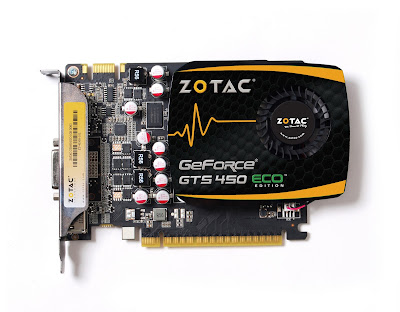 ZOTAC® GeForce® GTS 450 ECO screenshot 1