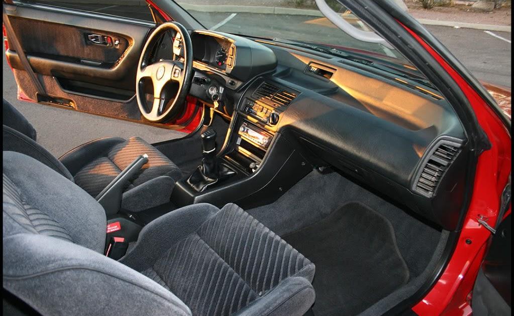 Prelude 88 91 3rd Honda Prelude 4ws 1990 G3 Interior Seats