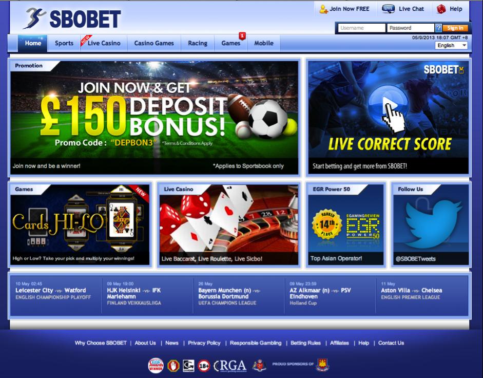 Vegas188.com Agen Judi Bola SBOBET Indonesia Terpercaya