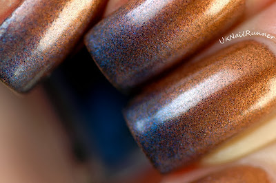 Nelly Polish Burnt Copper and Night Sky