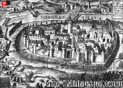 Смоленск во время осады города Речью Посполитой в 1609-1611 годах