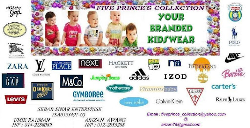 FivePrince-Collection ~ Branded Kids Apparel