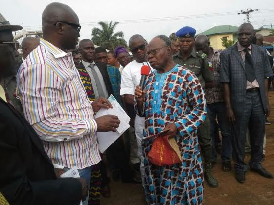 Fayose compensates Ekiti landlords whose houses were demolished