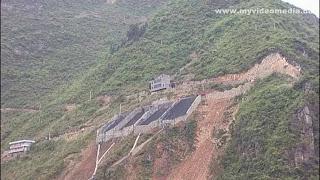 Coal shafts at Wu Gorge - Yangtze