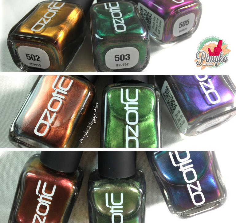 pimyko-nailart-swatch-ozotic-picturepolish-502-503-505-multichromes-nail-nailpolish-nailart-stamping