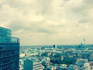 Blick auf Berlin, Panoramapunkt, Potsdamer Platz, Fernsehturm Berlin