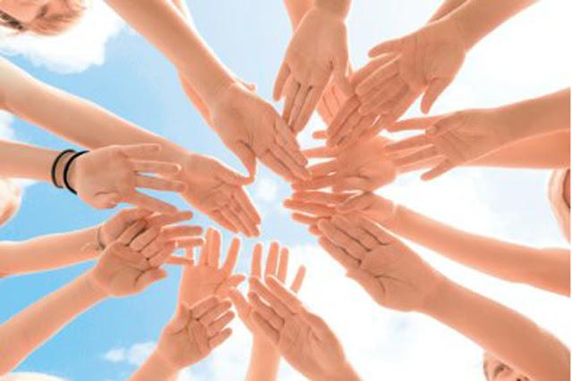 соавторы и добровольцы вместе