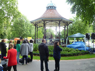 Myatt's Fields Park bandstand on vassallview.com