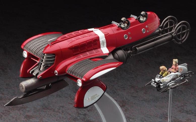 Steunk Deko scale model steampunk meets deco sci fi from hasegawa 1 72