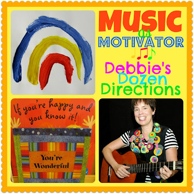 photo of: MUSIC as Motivator: Debbie's Dozen Directions, top 12 suggestions from Debbie Clement
