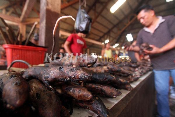 Ngeri Gan Pasar Ekstrem Di Sulawesi Utara Pic Zona