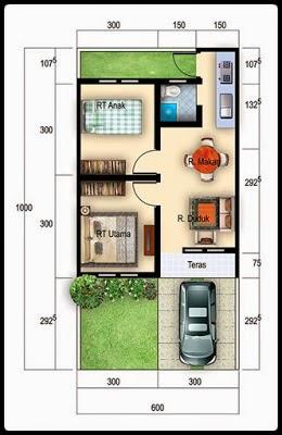 Gambar Desain Rumah Tipe 36 Minimalis