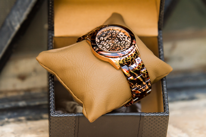 Tendencias en relojes animal print