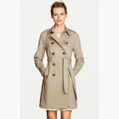 Le trench-coat beige