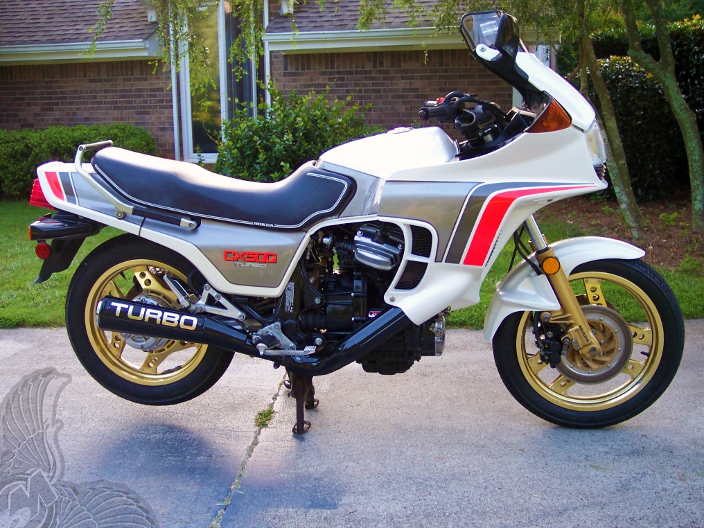 1982 cx500 turbo - right | motorcycle picture of the day