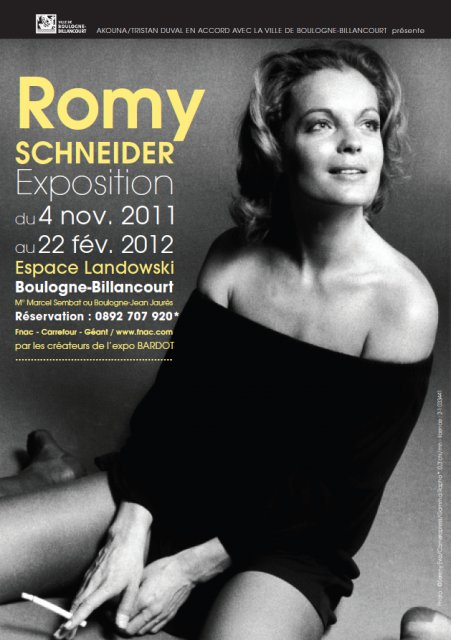 palacio del cine romy schneider exposition. Black Bedroom Furniture Sets. Home Design Ideas