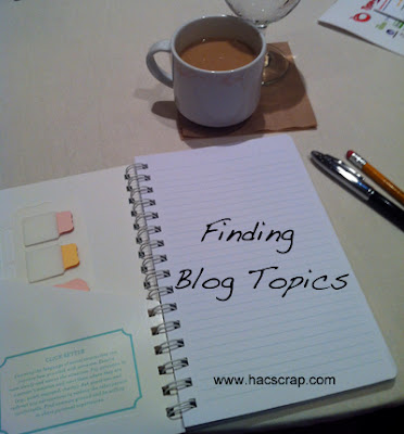 Finding Blog Content via My Scraps