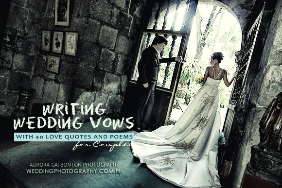 How to write wedding vows that wow