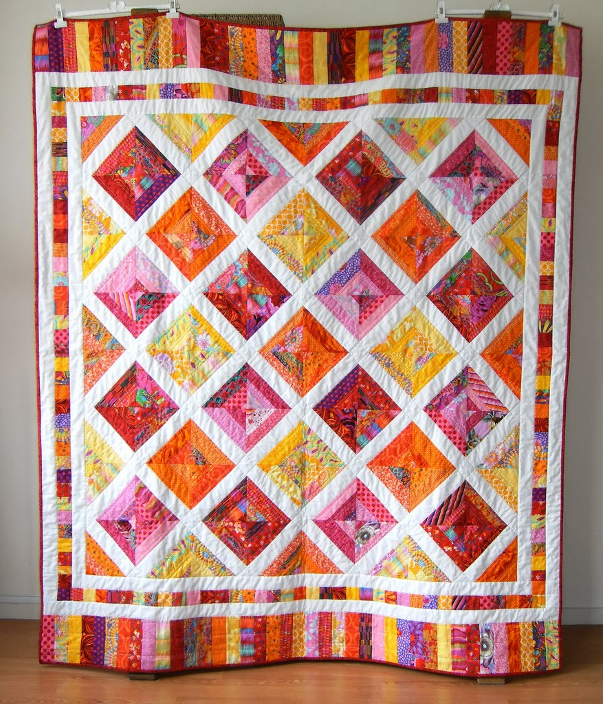 Quilting Designs Sashing : Porch Swing Quilts: WIP Wednesday: String Quilt Dilemma