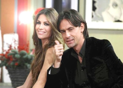 The Love Story Of Filippo Inzaghi and Alessia Ventura