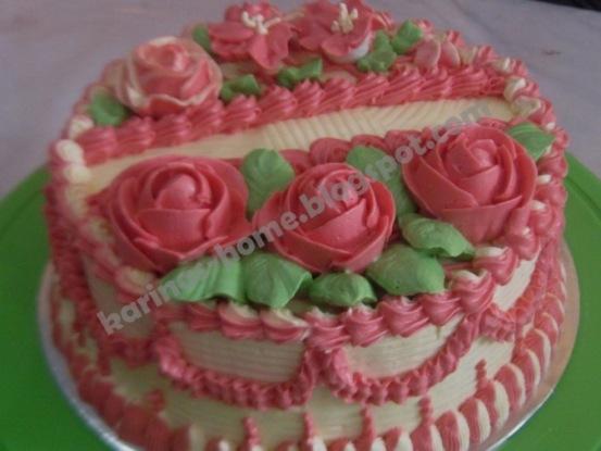 KARINA s HOME MADE: KURSUS CAKE DECORATING BUTTER CREAM, 26 FEBRUARI 2012