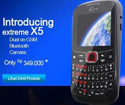 Harga Nexcom X5 dan Spesifikasinya
