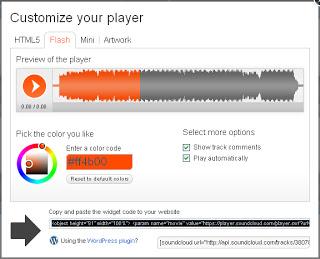 cara pasang musik autoplay di blog