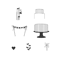 Stampin' Up! Make a Cake Stamp Set