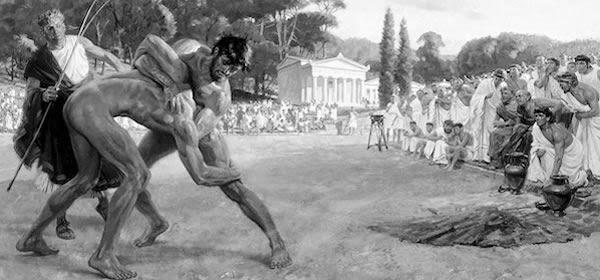 Juegos olímpicos en Grecia