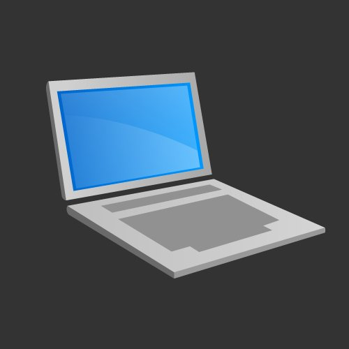 Laptop or Computer Icon Free only on Vector Icons Download