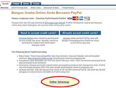 Cara Terbaik mendaftar Akun Paypal