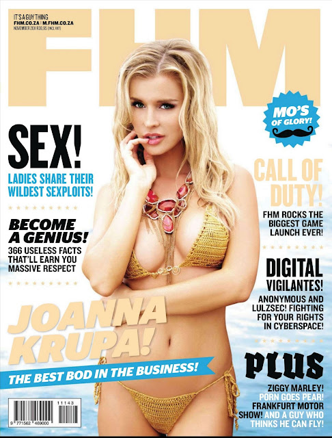 Joanna Krupa – FHM South Africa Magazine November 2011
