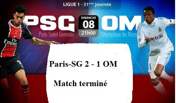ligue 1 clasico paris saint germain vs marseille en direct streaming. Black Bedroom Furniture Sets. Home Design Ideas