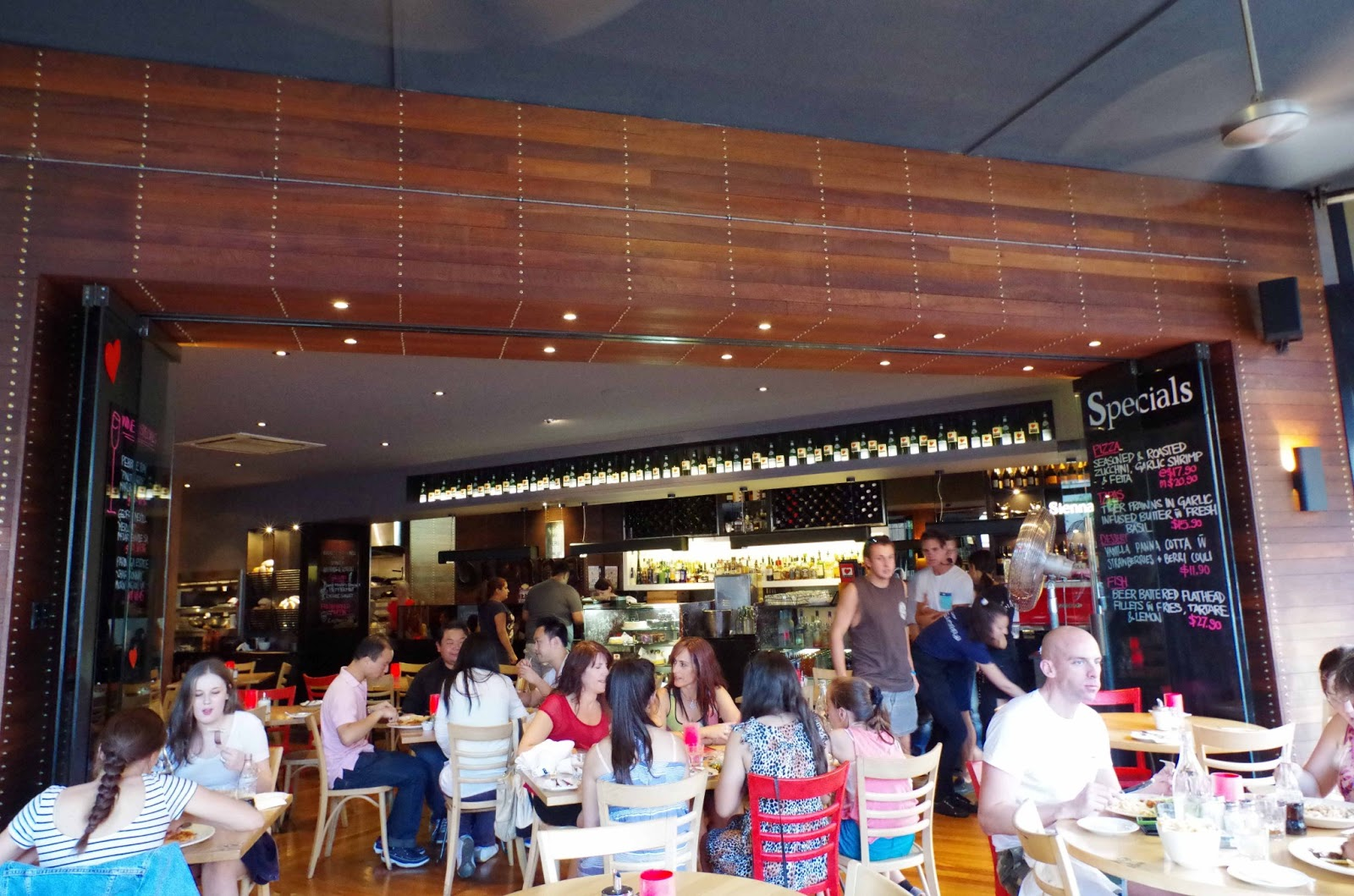 Cotta Cafe Melbourn : Cafe sienna review 402 chapel st prahan howies melbourne