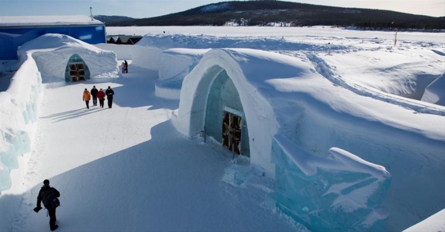 icono interiorismo ice hotel un hotel de hielo en suecia. Black Bedroom Furniture Sets. Home Design Ideas